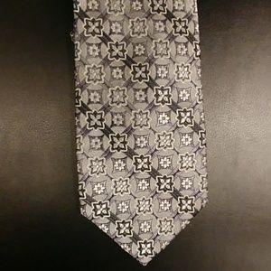 Pronto Uomo Extra Long Silk Tie Gray Unique
